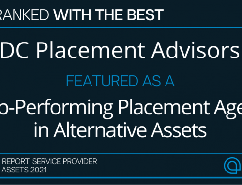 DC Placement Advisors has been named as a top performer in alternative assets